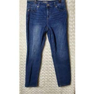 Chicos So Lifting Womens Jeans Sz 1.5 So Slimming